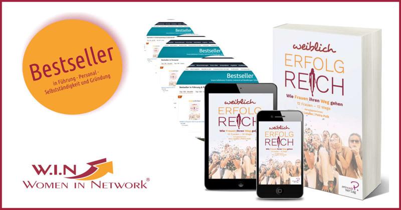 Bestseller W.I.N Buch 2020: Weiblich erfolgreich. Wie Frauen ihren Weg gehen
